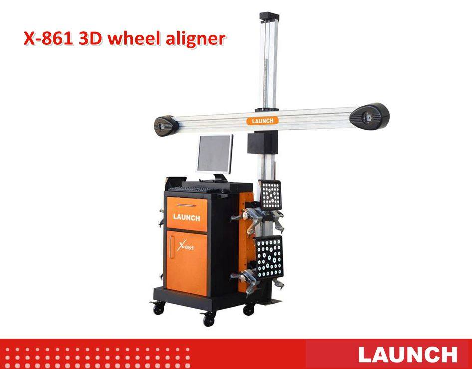 Launch X-861 3D Wheel Aligner
