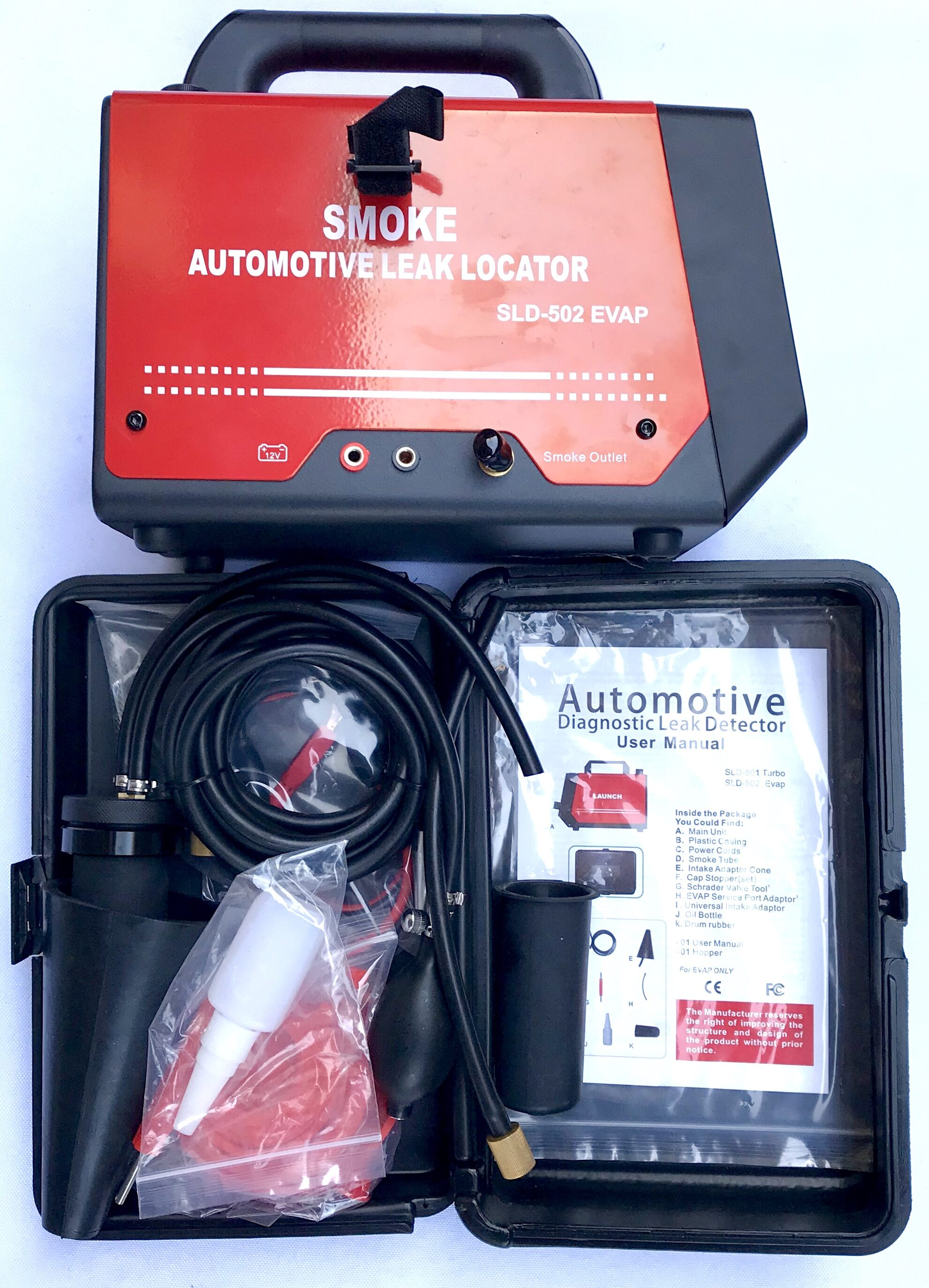 Launch SLD-502 Smoke Automotive Leak Locator (EVAP)